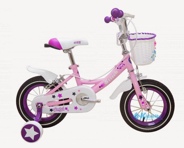 Xe đạp trẻ em Stitch Angel