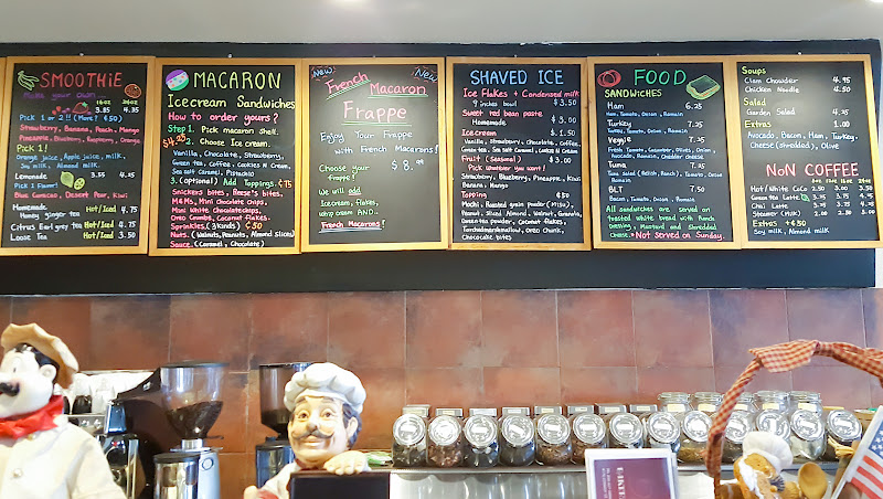 photo of the menu at Big Joy Family Bakery & Cafe