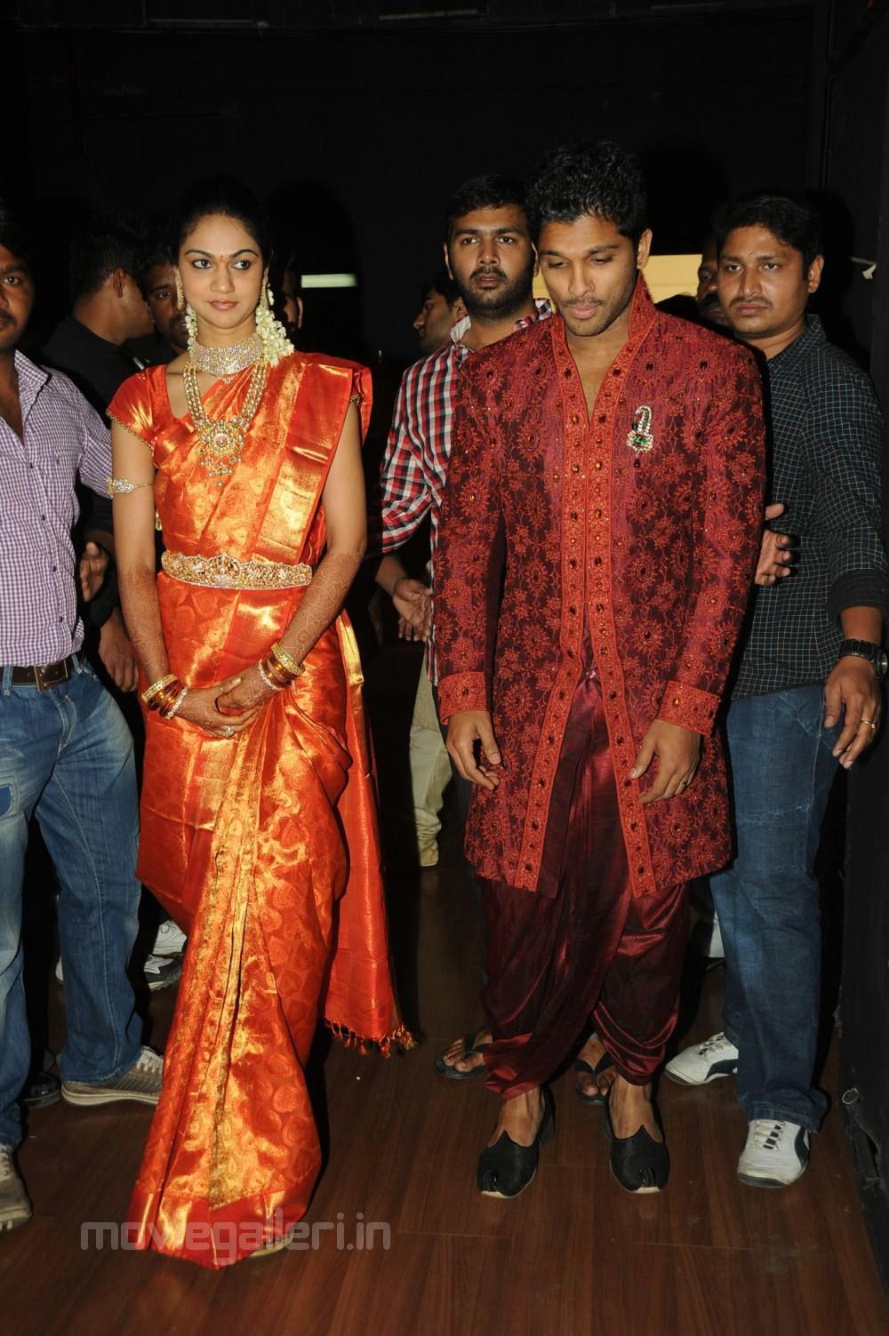 All4I Allu Arjun Sneha Reddy Marriage Reception Photos -2944