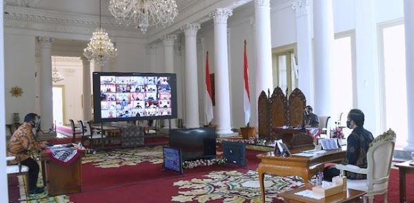 Pesan Jokowi Ke Gubernur: Mainkan Gas Dan Rem Sebelum Vaksin Ready