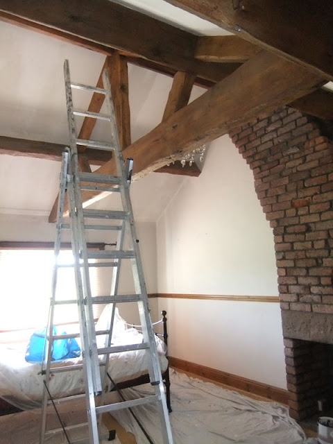Redecoration of a bedroom in a cottage located in Southport, Merseyside