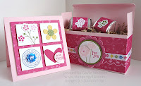 Mini card and treat box easy paper crafting ideas