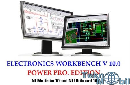 Electronics Workbench v10.0 Power Pro Full