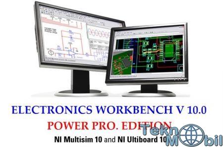 Electronics Workbench v10.0 Power Pro Full