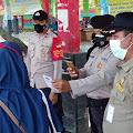 Tiba di Dermaga Kedatangan Pulau Tidung, 21 Warga di Himbau Terapkan ProKes dan Menunjukkan Sertifikat Vaksin