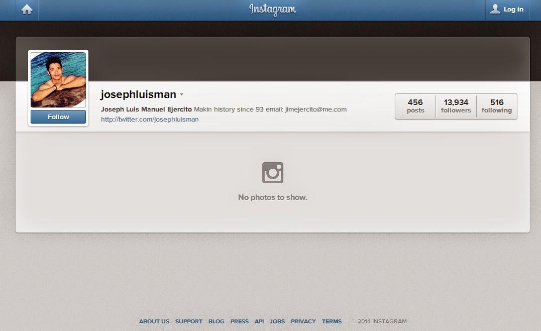 jolo estrada official instagram josephluisman