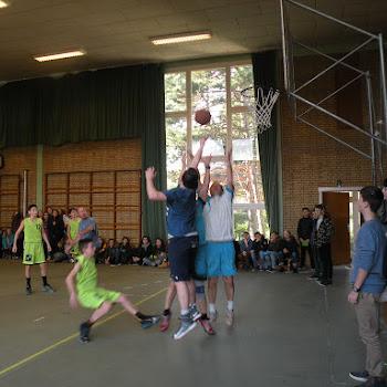 Basket leerlingen leraars 2016