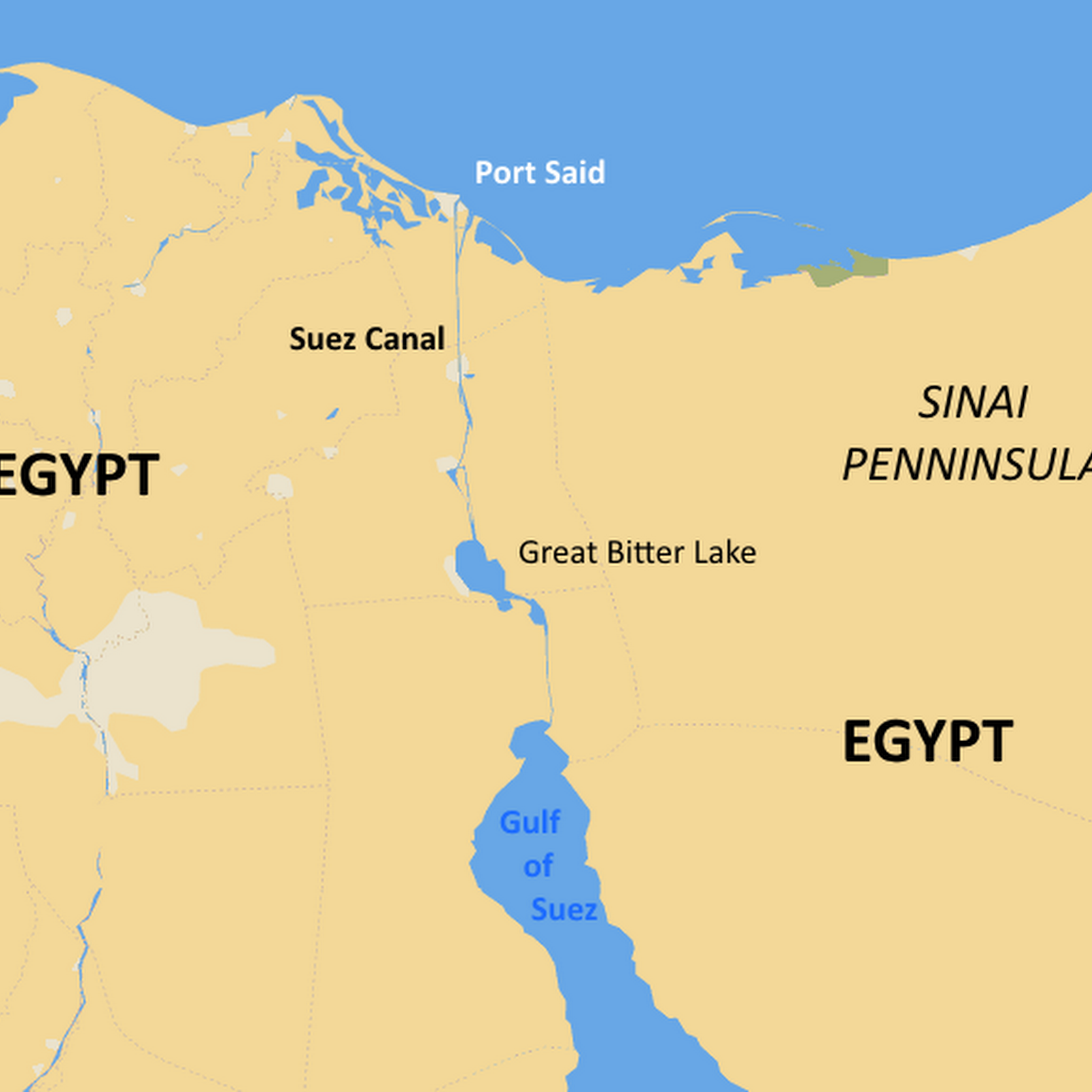 How War Marooned 15 Ships in The Suez Canal For Eight Years