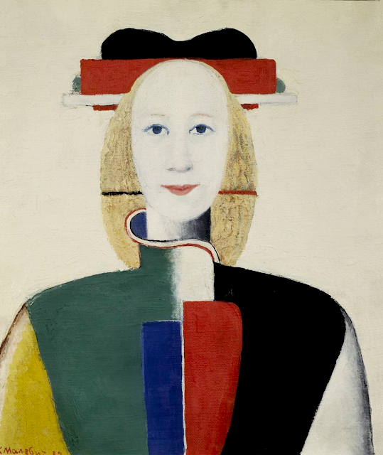 Kazimir Malevich - Girl with a Comb in Her Hair