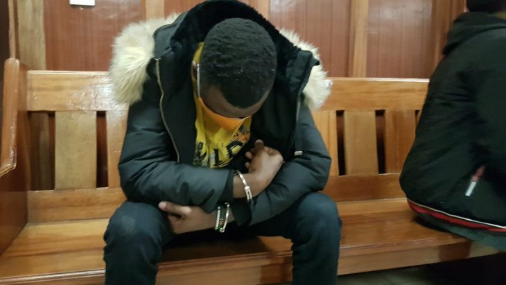 Man arraigned in court for allegedly forcing his Kenyan girlfriend to perform oral sex on him at knifepoint and posting the video online