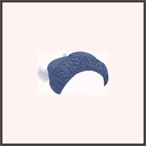 紺色ニット帽