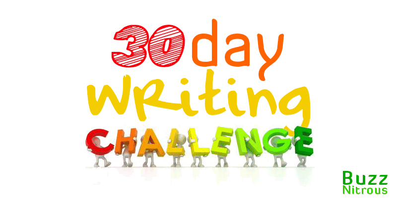 30 Day Writing Challenge (times 6)