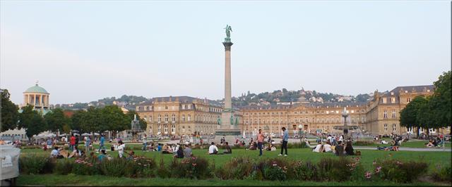 Schlossplatz - Stuttgart