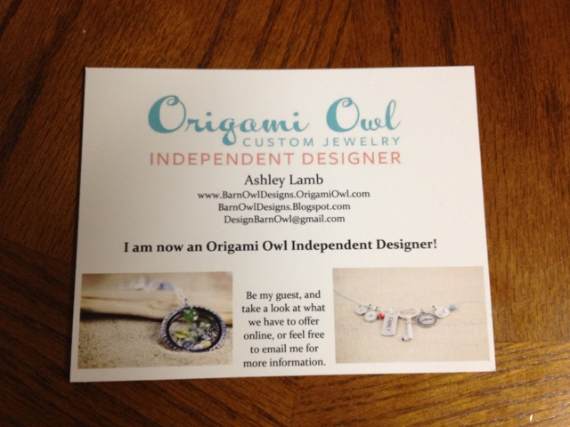 Origami owl business cards vistaprint origami owl business cards vistaprint photo8 reheart Choice Image