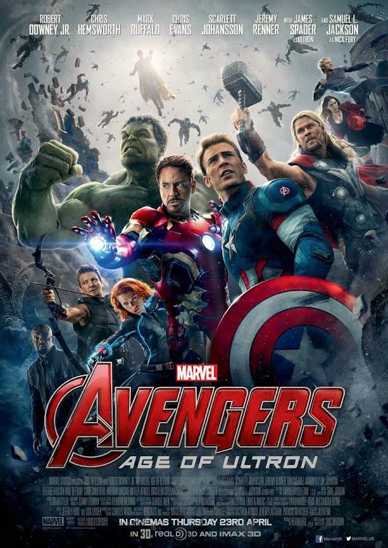 Οι Εκδικητές: Η Εποχή του Ultron (Avengers: Age of Ultron) Poster