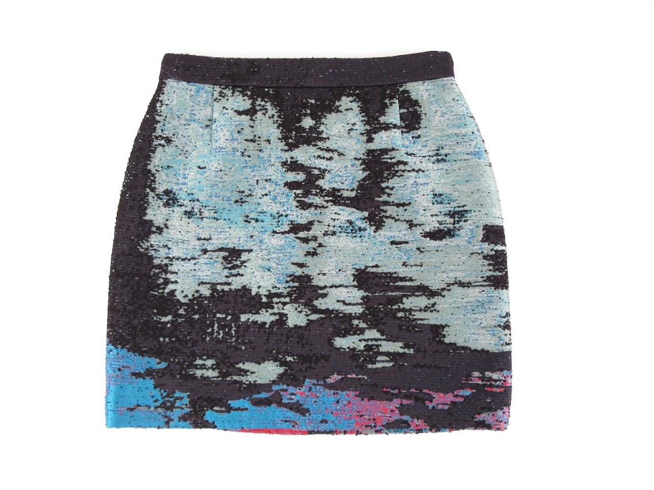 Proenza Schoeler Textured Mini Skirt