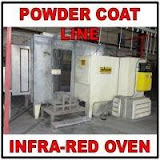 Powder Coat Line and Infra-Red Oven