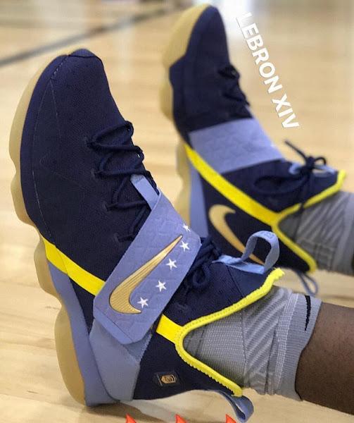 PE Spotlight LeBron 14 Nike Basketball Academy Edition