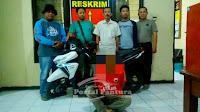 Polsek Bumiayu ungkap pencurian sepeda motor di Alfamart Jatisawit