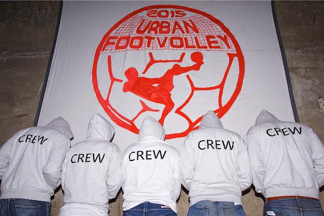 crew - organisatoren footvolley Roeselare