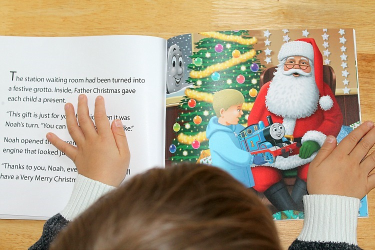 thomas & friends personalised book review