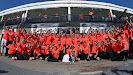 McLaren celebrates their victory