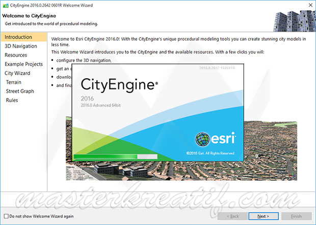 Geographic Information System: Esri City 2016 Engine Crack