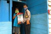 Hut Bhayangkara, Polri Bagikan Beras Pada Warga Binaan
