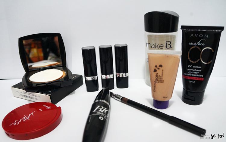 Kit completo de maquiagem para iniciantes