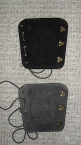 Children / women arm guards (Category I): with anti allergic material on the backside