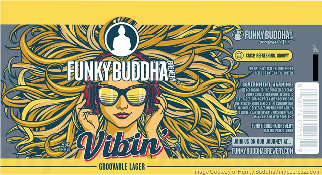 Image result for funky buddha vibin' lager