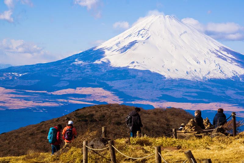 駒ヶ岳山頂 富士山 写真1