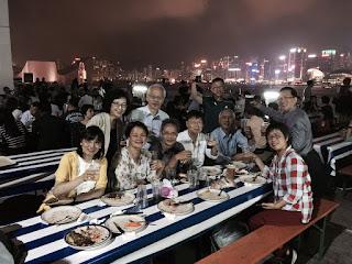 2015年10月28日十位同學歡聚於香港酒店舉辦的德國啤酒節