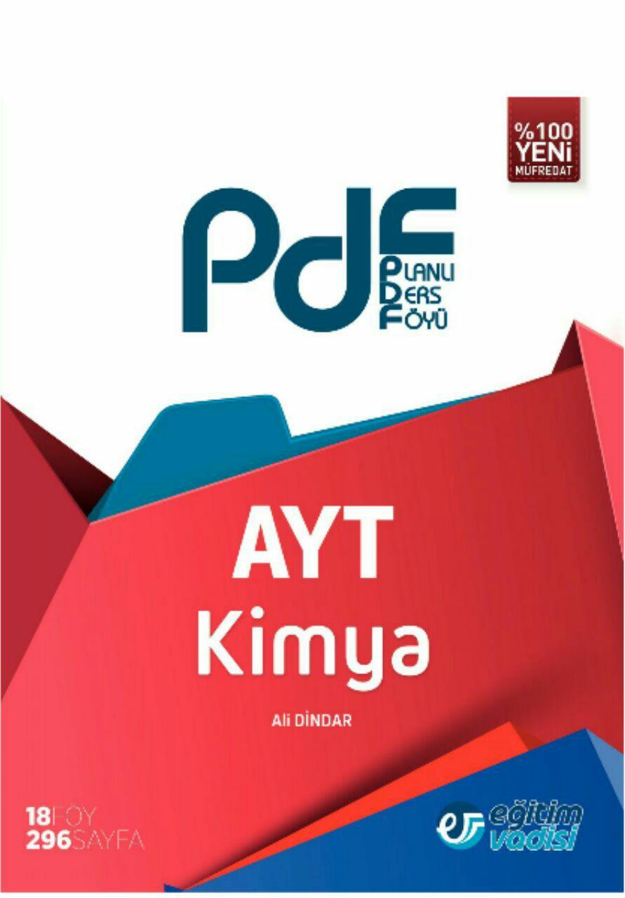Eğitim Vadisi AYT Kimya Planlı Ders Föyü (2019-2020)