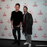 WWW.ENTSIMAGES.COM - Andrew Cooper and Marc Jacobs   at   Diet Coke & Marc Jacobs - launch party at The German Gymnasium, 26 Pancras Road, London March 11th 2013                                        Photo Mobis Photos/OIC 0203 174 1069