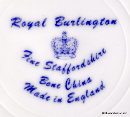 ROYAL BURLINGTON Back Stamp