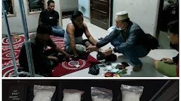 Tiga Bandar Sabu Lintas Provinsi Dibekuk Satresnarkoba Polres Tebo