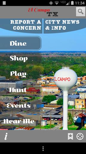 City of El Campo TX Mobile App