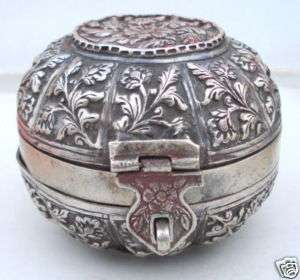 Hyderabad - Rare Pictures - 120732983_rare-vintage-antique-heavy-solid-old-silver-box-case-.jpg