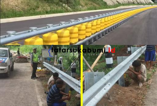 Janji RK Pasang Roller Guardrail di Jalur Rawan Cikidang, Dikyasa Polres Sukabumi : Jenisnya Tidak Sesuai Spesifikasi