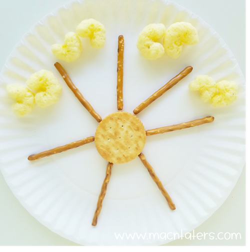 Weather Themed Snack: Sun Snack