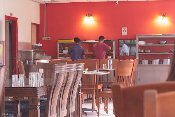 The Andersonians' Cafe Interior