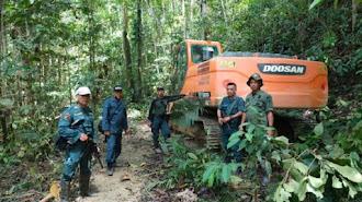 Pemodal Tambang Emas Ilegal di Hutan Lindung Gunung Dako Jadi Tersangka
