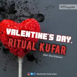 Valentine's Day, Ritual Kufar