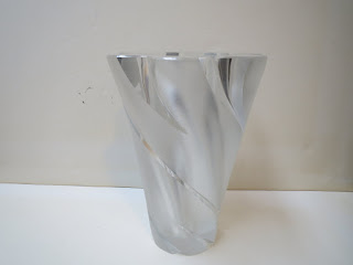 Lalique Frosted Vase