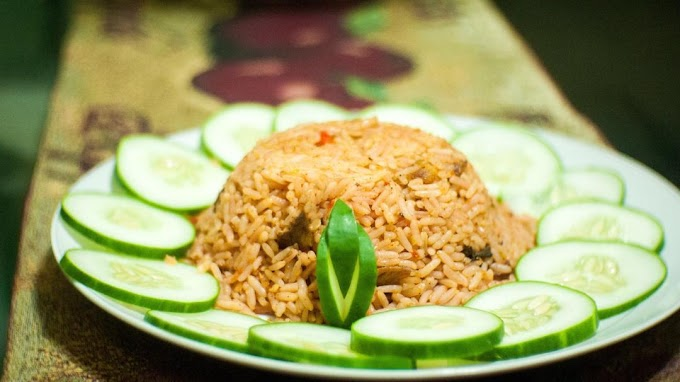 How to prepare a delectable jollof rice.