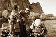 1974 г. Погружение у Караул-Оба, Новый Свет