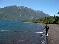 Hiking at Lago de Los Santos