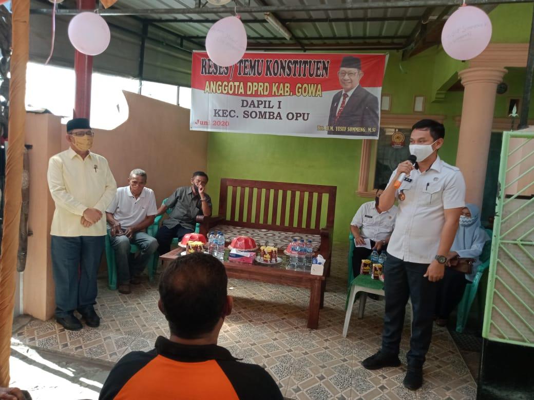 Ketua Fraksi Karya Perjuangan DPRD Gowa Gelar Reses Serap Aspirasi