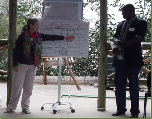 CHE training - presenting seed project